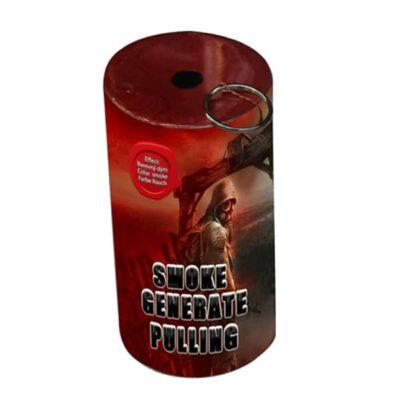 DYM CZERWONY Z ZAWLECZKĄ TXF930 - generator dymu. Świece dymne
