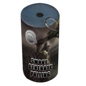 DYM CZARNY Z ZAWLECZKĄ TXF930 - generator dymu, granat dymny. Świece dymne