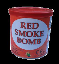 Świeca dymna czerwona w puszce - generator dymu, granat dymny. Świece dymne
