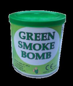 Świeca dymna zielona w puszce - generator dymu, granat dymny. Świece dymne