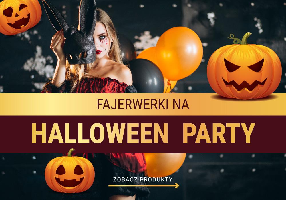 halloween party fajerwerki sklep impreza